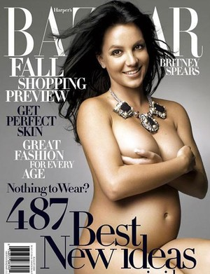 беременные звезды на обложках глянца Бритни Спирс