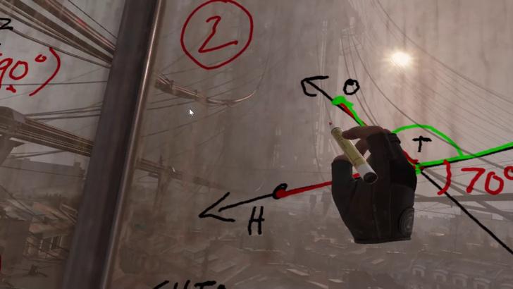 Фото №1 - Американский учитель провел урок геометрии в новом Half-Life