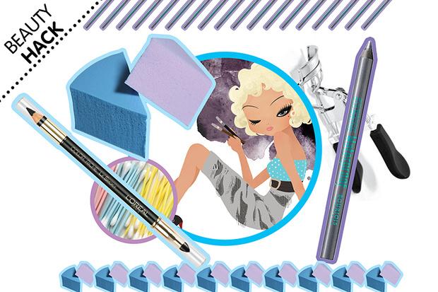 Фото №4 - Beauty Hack: Как нарисовать ровные стрелки