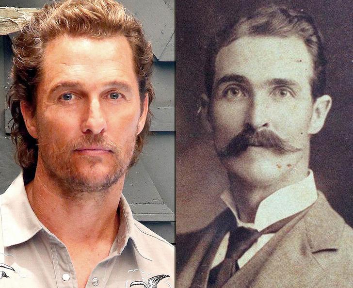 Фото №6 - Взрыв из прошлого: знаменитости, невероятно похожие на исторических личностей