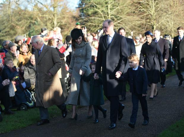 Фото №3 - Королевская семья на рождественской службе в Сандрингеме: без Сассекских, но с принцем Эндрю