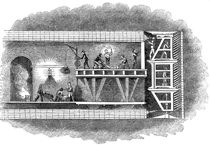 Фото №3 - Тоннель под Темзой: драматическая история строительства первого в мире тоннеля под рекой