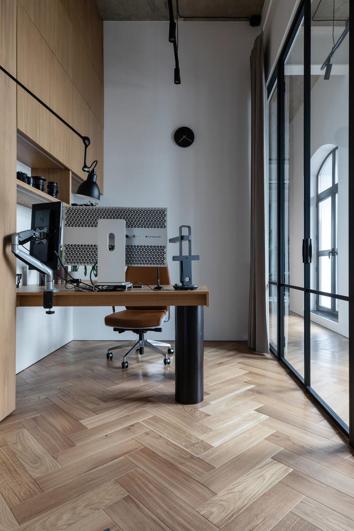 Фото №6 - Минималистичная квартира в лофт-апартаментах в Москве