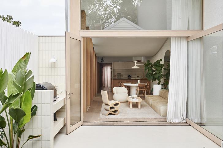 Фото №1 - Дом в пастельных тонах в Мельбурне