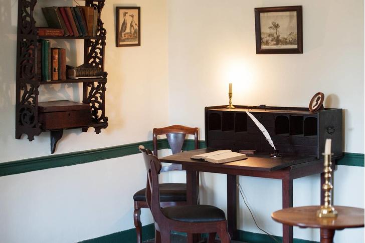 Фото №4 - Дома писателей: где рождались на свет бестселлеры