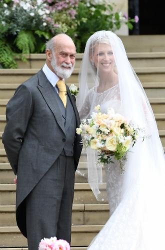 Фото №2 - Свадьба Леди Габриэллы Виндзор и Томаса Кингстона
