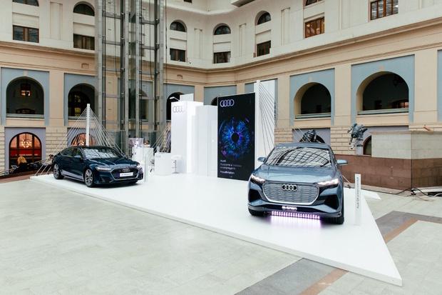 Фото №1 - Audi на международной ярмарке современного искусства Cosmoscow
