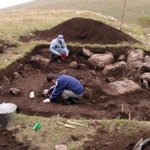 Фото №1 - На Украине обнаружена усыпальница VI века до н.э.