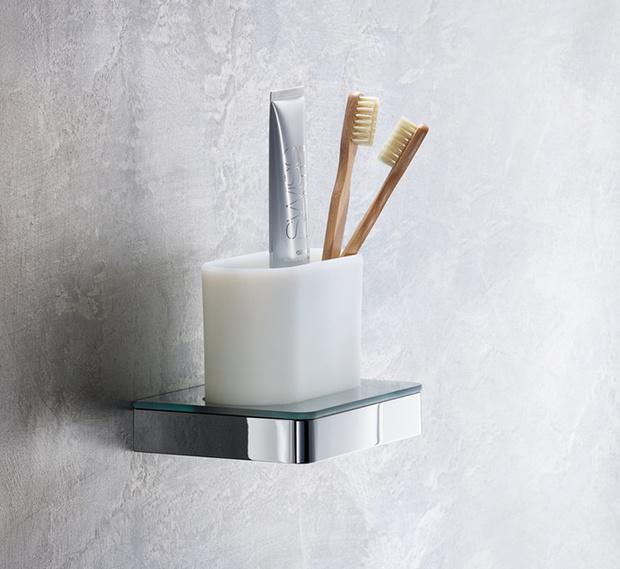 Фото №9 - Стильные аксессуары для хранения в ванной