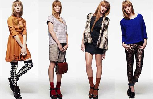 Рюши, меховые жилеты и джемперы насыщенных оттенков вновь обрели популярность в сезоне осень-зима 2011 - 2012