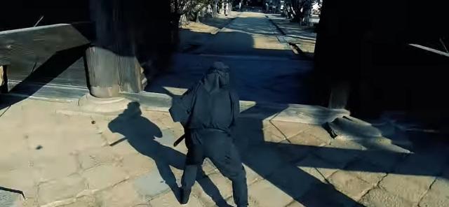 Фото №1 - Как выглядит атака ниндзя от первого лица (видео)
