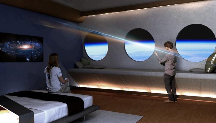 Фото №3 - Концепт: как будет выглядеть отель, расположенный в космосе