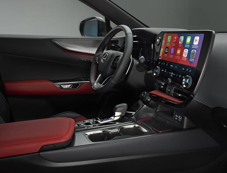 Фото №4 - Новый Lexus NX удивил классной системой мультимедиа
