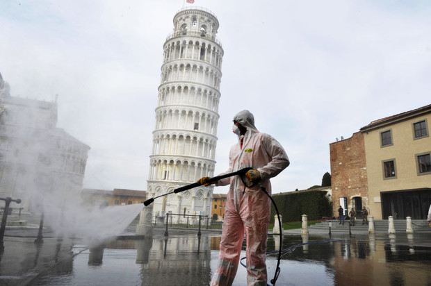Фото №2 - Глазами очевидца: в Италии в зоне заражения каждые два часа умирает человек
