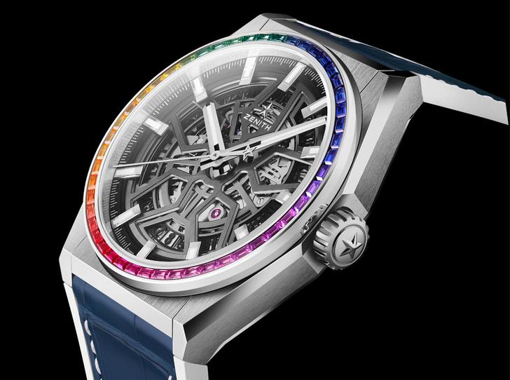 Фото №4 - Радужное настроение: Zenith выпустили новую модель Defy Classic Rainbow