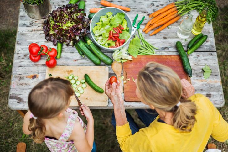 Фото №2 - Здоровое питание для детей: полезные правила и привычки