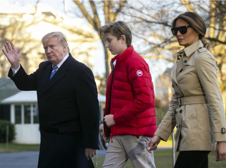 Фото №3 - Чем жизнь Бэррона Трампа отличается от жизни детей других президентов