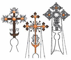 Фото №1 - Почему на куполах православных храмов в основании креста встречается полумесяц?