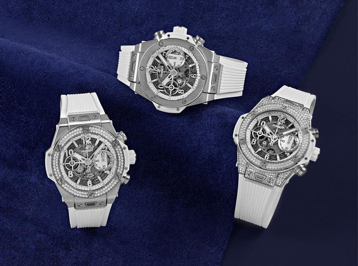Фото №1 - Hublot представили часы Big Bang Unico White 42 mm