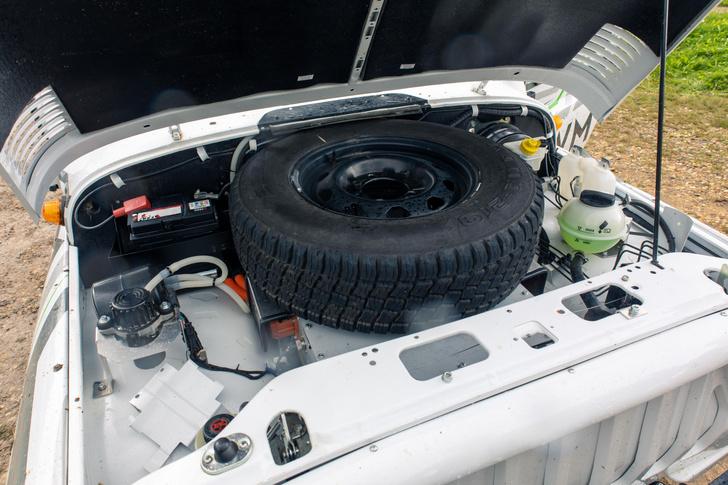 Фото №5 - 7 высоковольтных фактов об электровездеходе «УАЗ-Спартан»