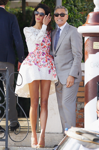 Фото №15 - Джордж и Амаль Клуни: история любви