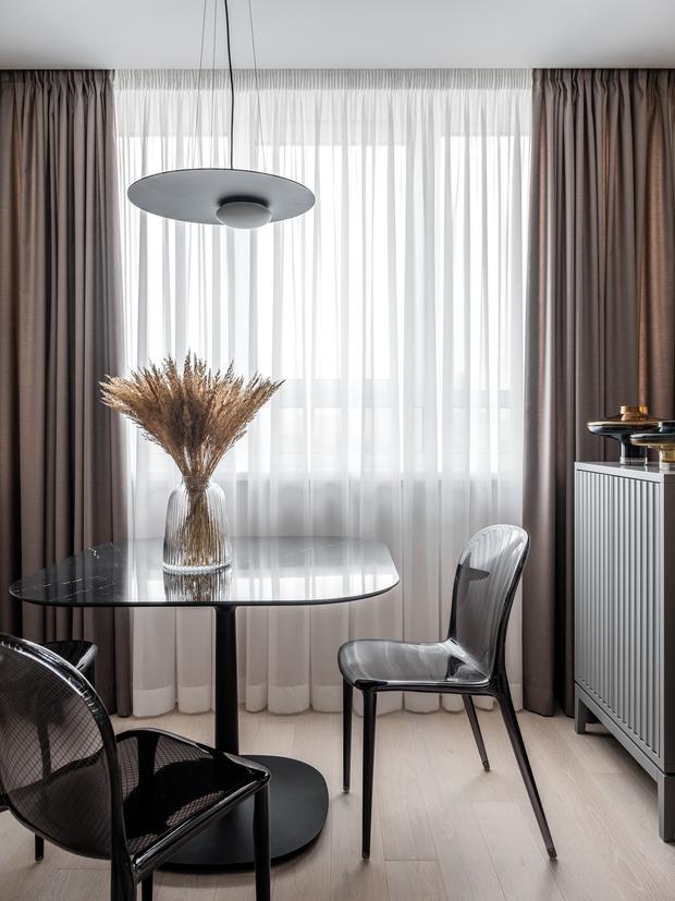 Фото №6 - Лаконичная квартира с черными акцентами