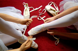 Фото №1 - Когда начали танцевать на пуантах?