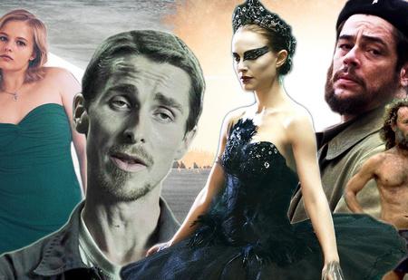 19 актеров и актрис, очень сильно толстевших и худевших для роли