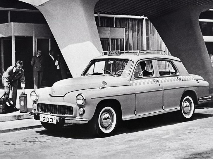 Фото №2 - Советские автомобили, которые выпускали за границей