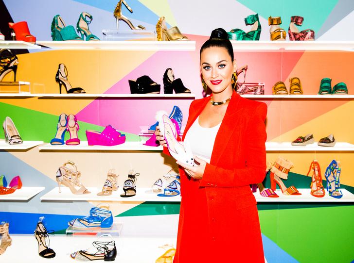 Фото №1 - Хулиганская коллекция обуви от Кэти Перри для Rendez-Vous