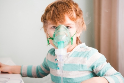 Ингаляции для детей при простуде и гриппе
