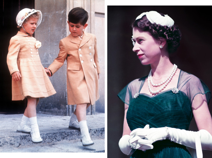 Фото №1 - Как Королева реагировала на ссоры принца Чарльза и принцессы Анны