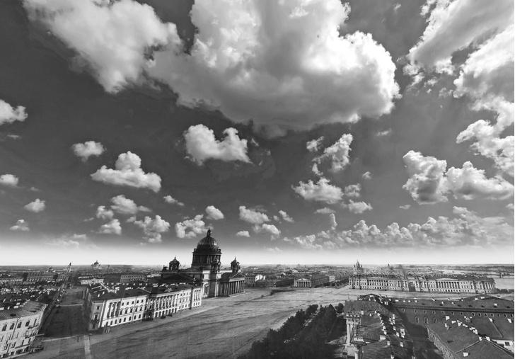 Фото №1 - Открытие дня: круговая панорама Санкт-Петербурга 1861 года, снятая со шпиля Адмиралтейства