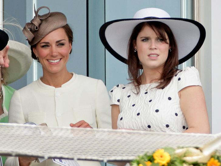 Фото №2 - Обмен опытом: как герцогиня Кейт помогает принцессе Евгении вживаться в роль мамы