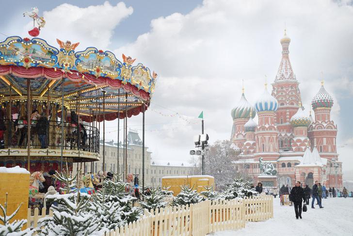 Фото №1 - Красная площадь и парк Горького в десятке самых популярных геотегов