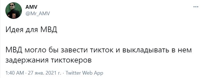 Фото №11 - Лучшие шутки про тиктокеров-оппозиционеров