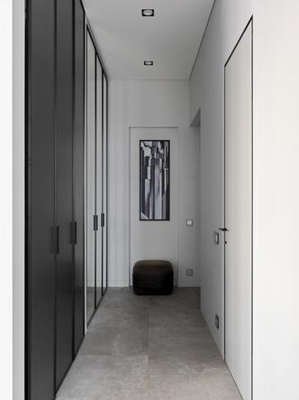 Фото №3 - Монохромная квартира 59 м² для целеустремленной женщины