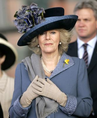 Фото №4 - Герцогиня Эпатаж: самые невероятные шляпы Камиллы