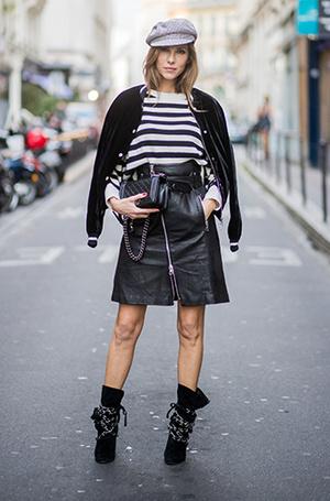 Фото №8 - Как носить самые модные юбки сезона: мастер-класс от звезд street style хроник