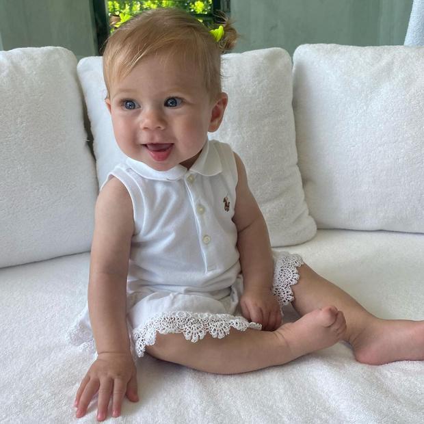 Фото №2 - Ангелочек: Курникова показала 8-месячную дочь