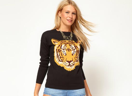 Фото №1 - Модный тренд: свитеры с животными