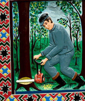 Фото №8 - Румынское кладбище: картинки на память