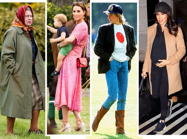 Фото №1 - Самые стильные повседневные образы королевских модниц
