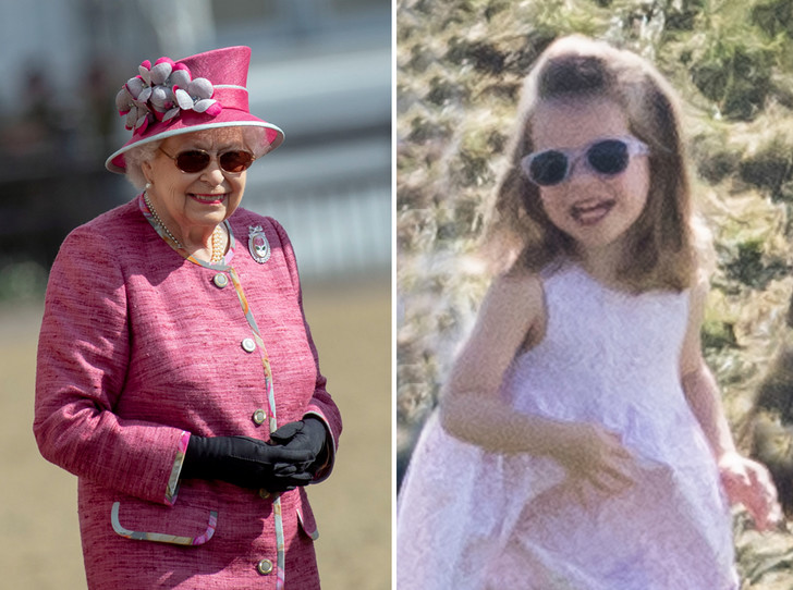 Фото №1 - Копия прабабушки: Шарлотта все больше похожа на Королеву