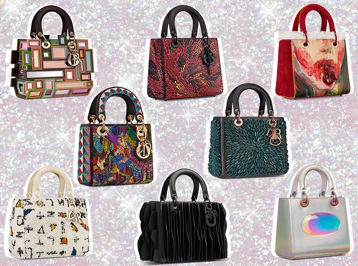 Фото №1 - Искусство и мода: проект Lady Dior Art показал новые версии легендарной сумки