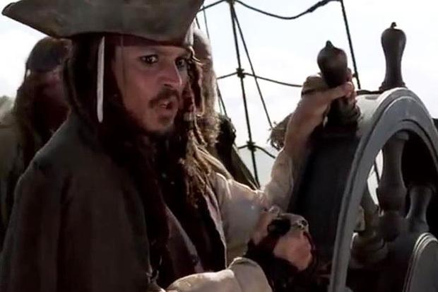 Фото №12 - Тысяча чертей! 20 убойных киноляпов в «Пиратах Карибского моря»