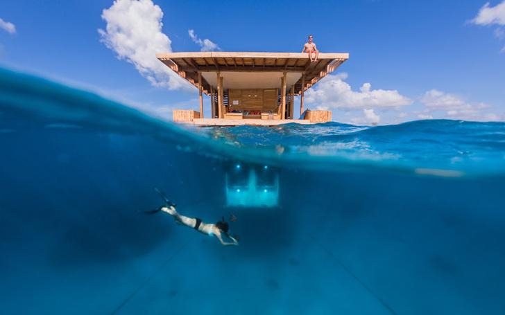 Фото №1 - Сон среди рыб