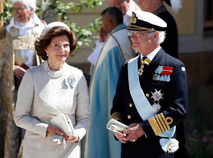Фото №5 - Как проходило крещение шведской принцессы Адриенны