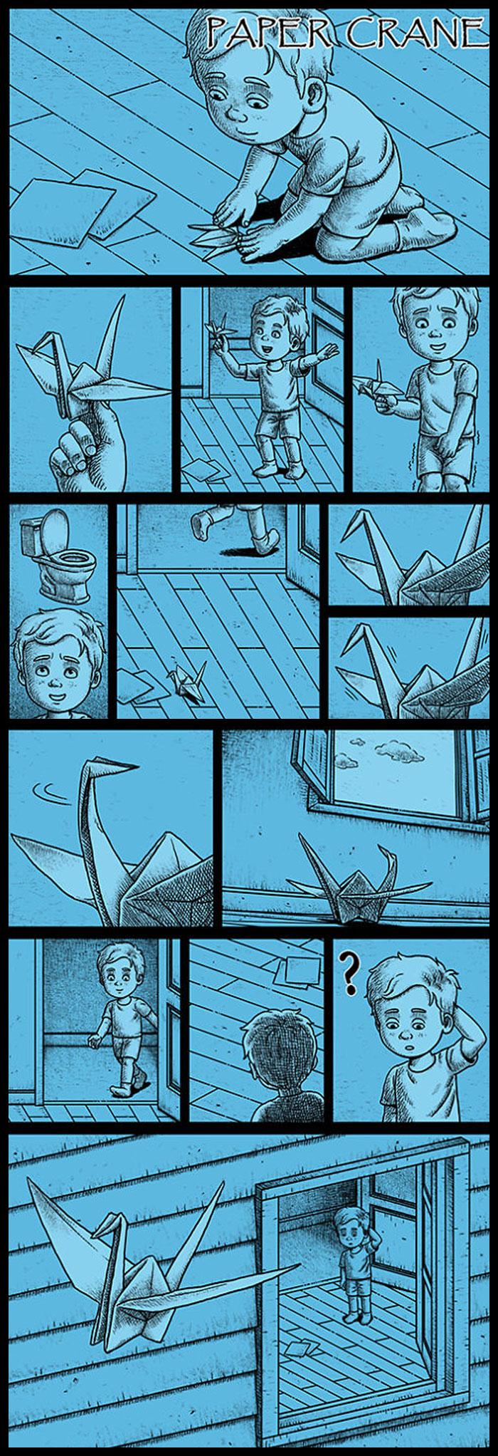 Фото №18 - 30 комиксов с отборным черным юмором от Бена Чена