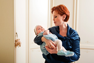 Фото №2 - Ольга Кокорекина: мама принцессы